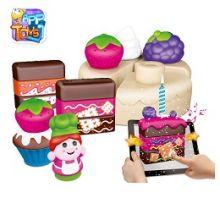 CHICCO GIOCO COSTRUZIONI CAKE-DESIGN 30 PEZZI Giochi per neonati e bambini