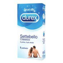 DUREX SETTEBELLO CLASSICO 5 PEZZI NF Preservativi