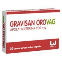 GRAVISAN OROVAG 20 CAPSULE ORALI E VAGINALI Prodotti per gravidanza e allattamento