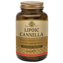 Lipoic Cannella 60 Capsule Vegetali Anti age