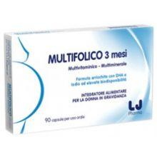 MULTIFOLICO 3MESI 90CPS Integratori per gravidanza e allattamento