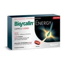 Bioscalin Energy Capelli Uomo 30 Compresse Integratori per capelli e unghie