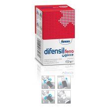 DIFENSIL FERRO GOCCE 2 FLACONCINI DA 9ML Integratore Ferro