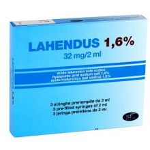 LAHENDUS SIRINGA INTRARTICOLARE 1,6% 2ML Infiltrazioni per ginocchio e articolazioni