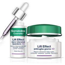 Somatoline Cosmetic Lift Effect Siero Intensivo Riparatore 4D + Lift Effect Antirughe Giorno 4D Borse sotto gli occhi