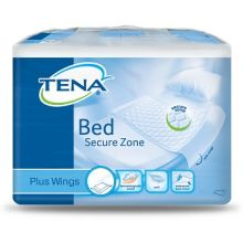 TENA BED PLUS WINGS TRAVERSE LETTO RIMBOCCABILI MISURA 80X180 CM 20 PEZZI Traverse per letto