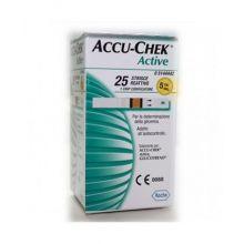 ACCU-CHEK ACTIVE STRIPS 25PZ Strisce controllo glicemia