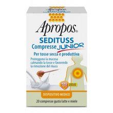 APROPOS SEDITUSS CRP JUNIOR LATTE&MIELE Prodotti per gola, bocca e labbra