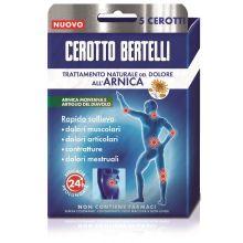 BERTELLI CEROTTO ARNICA 5PZ Antidolorifici