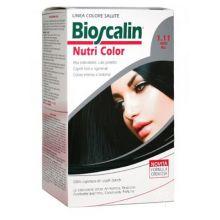 BIOSCALIN NUTRICOLOR TINTURA CAPELLI COLORE 1.11 NERO BLU Tinte per capelli
