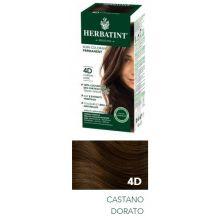 HERBATINT 4D COLORE CASTANO DORATO 135ML Tinte per capelli
