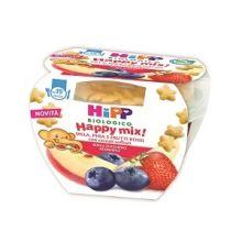 HIPP HAPPY MIX FRUTTI ROSSI MELA E PERA 121G Biscotti per bambini e corn flakes