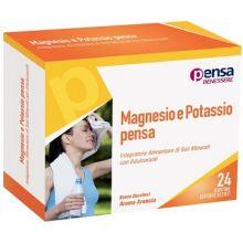 MAGNESIO E POTASSIO PENSA 24BU Integratori Sali Minerali