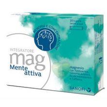MAG MENTE ATTIVA 20 BUSTINE Magnesio e zinco