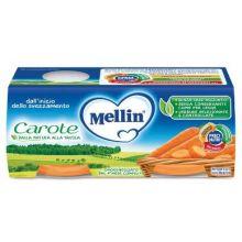 MELLIN OMOG CAROTE 2X80G Omogeneizzati di verdura