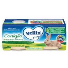 MELLIN OMOG CONIGLIO 2X120G Omogeneizzati di carne