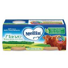 MELLIN OMOG MANZO 2X80G Omogeneizzati di carne