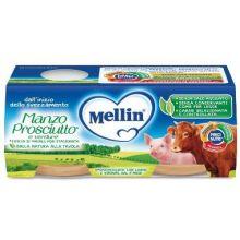 MELLIN OMOG MAN PR C/VER 2X80G Omogeneizzati di carne