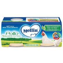 MELLIN OMOG POLLO 2X120G Omogeneizzati di carne