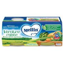 MELLIN OMOG VERDURE MISTE2X80G Omogeneizzati di verdura