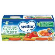 MELLIN PRIMOSUGO POM/VERD2X80G Sughi per bambini