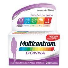 MULTICENTRUM DONNA 30CPR Per la donna