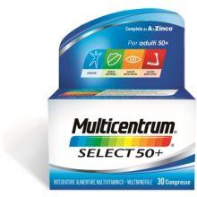 MULTICENTRUM SELECT 50+ 30CPR Alimentazione e integratori