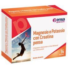 Magnesio e Potassio Con Creatina 14 Bustine Pensa Vitamine