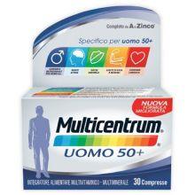 Multicentrum Uomo 50+ 30 Compresse Alimentazione e integratori