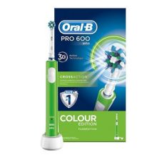 ORALB PC 600 VERDE CROSSACTION Spazzolini elettrici
