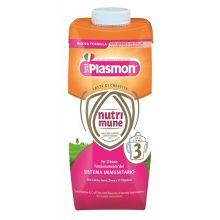 PLASMON NUTRI-MUNE 3 LIQ 2PZ Latte per bambini