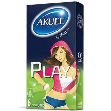 AKUEL BY MANIX PLAY B 6PZ Preservativi