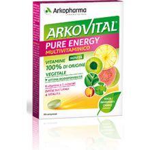 Arkovital Pure Energie Multivitaminico 30 Compresse Tonici e per la memoria