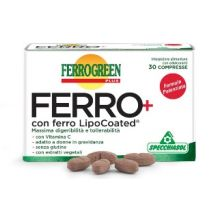 FERROGREEN PLUS FERRO+ 30CPR Integratore Ferro