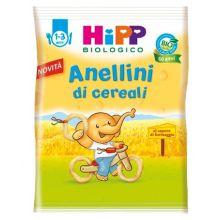 HIPP ANELLINI DI CEREALI 25G Merende per bambini