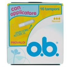 OB APPLICATORE NORMAL 16PZ Assorbenti interni