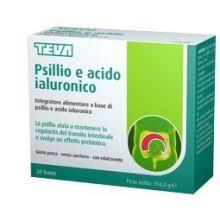 PSILLIO ACIDO IALURONICO 20BST Regolarità intestinale e problemi di stomaco