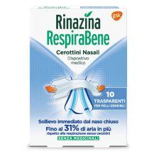 RINAZINA RESPIRABENE TRASP10 C Cerotti nasali