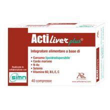 Actiliver Plus 40 compresse Digestione e Depurazione