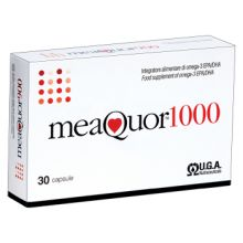 Meaquor 1000 30 capsule Colesterolo e circolazione