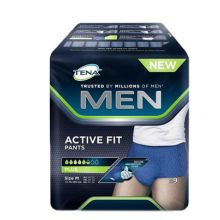 Tena Men Pants Active Fit Misura M 9 Pezzi Assorbenti per uomo