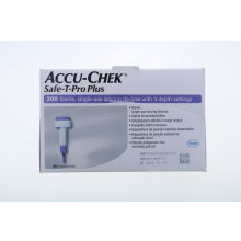 Accu-Chek Safe T-Pro Plus 200 Pezzi Lancette pungidito