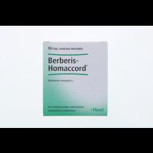 BERBERIS HOMACCORD 10 FIALE 1,1ML HEEL Fiale
