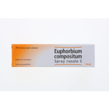 EUPHORBIUM COMPOSITUM SPRAY NASALE 20ML Gocce e spray