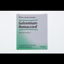 GELSEMIUM HOMACCORD 10 FIALE 1,1 ML HEEL Fiale