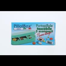 PillolBox Mini 3 Scomparti Portapillole