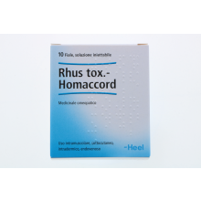 RHUS TOXICODENDRON HOMACCORD 10 FIALE DA 1,1ML HEEL Fiale