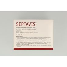 SEPTAVIS 50ML+50 GARZE TNT STE Detergenti e struccanti per occhi