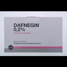 DAFNEGIN* 5 FLACONI SOLUZIONE VAGINALE 150ML0,2% Schiume, lavande e detergenti vaginali