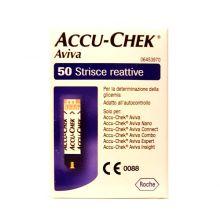 Strisce per diabete Accu-Check Aviva 50 strisce Strisce glicemia